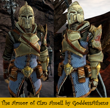 Armor of Clan Amell