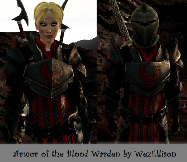The Armor of the Blood Warden