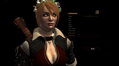 Aveline texture - CC with eyebrows