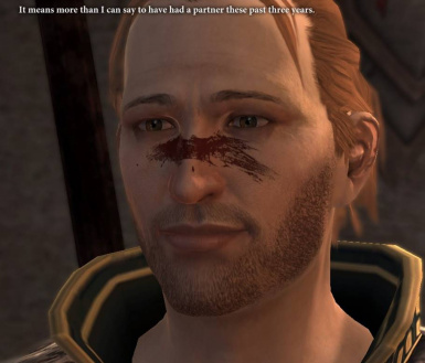 Companions with Hawke's War Paint