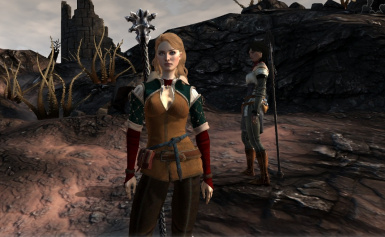 Witcher 3 Triss Armor for FemHawke