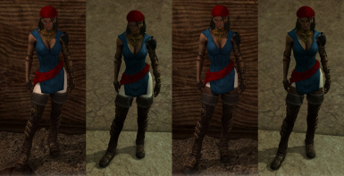Isabela First Outfit Retextures