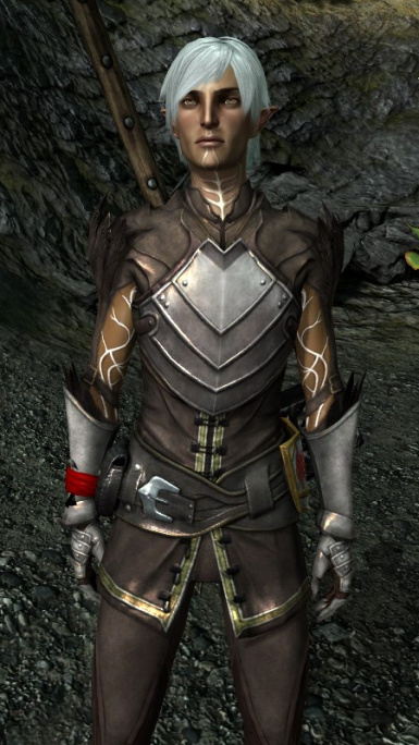 Darker Fenris Morph with HD Textures and Skin Tint Map