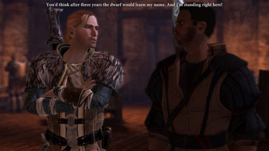 Varric Dialogue Edits - Cut Content Restored