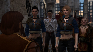 Soldier's Fortune and Apostate's Pledge - Witcher Armors for Bethany and Carver