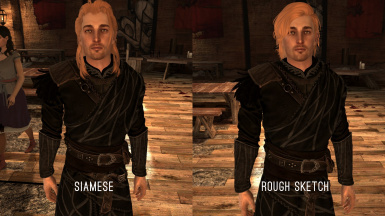 Golden Anders Act1 with Ellise's HR face texture optional request files