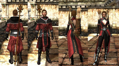 Scarlet Robes of the Circle Mage