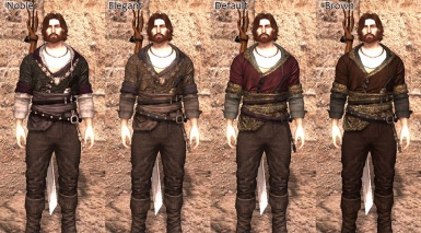 Ornate Apparel - Witcher 3 Robes for MHawke
