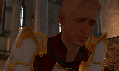 Alistair - Inquisition Mesh