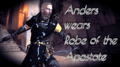 Anders wears Robe of the Apostate