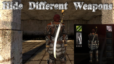 Hide Different Weapons