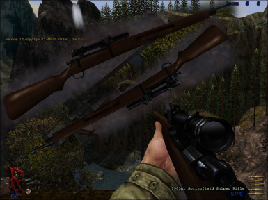 Realistic M1903A1 Springfield Sniper Rifle