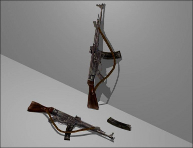 Angel Realistic Strapped MP44 (1.0)