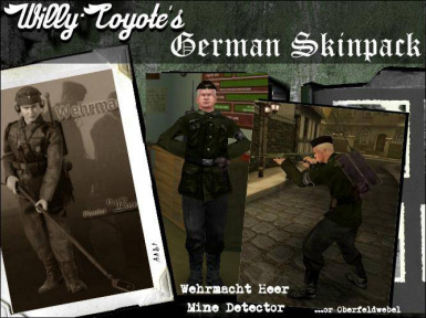 Willy-Coyote's German Skinpack
