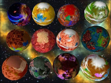12 Crazy Planets