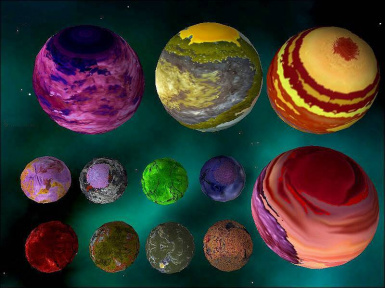 12 D and J class planets