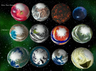 12 Armed Planets