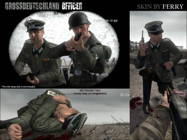 Ferry's Grossdeutschland Officer at Call of Duty 2 Nexus - Mods and