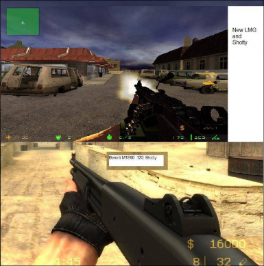 CS: Source Ultimate Weapons Mod (v2.0)