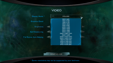 Add 4K and 8K resolution support