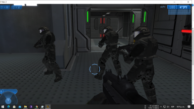Halo 2 Cairo Station With ODST