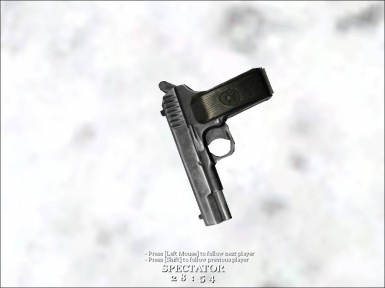 Tokarev TT33 pistol for CoD