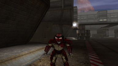 Red Armor Predators Skin Pack