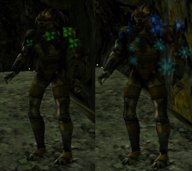 Snowflake Cloak Effect for AvP2