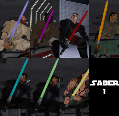 Star Wars Mod - Lightsaber Pack Add-on