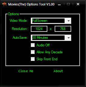 Movies(The) Options Tool (1.00r1)