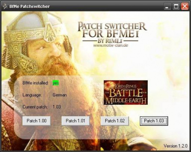 battle for middle earth 1.03 patch