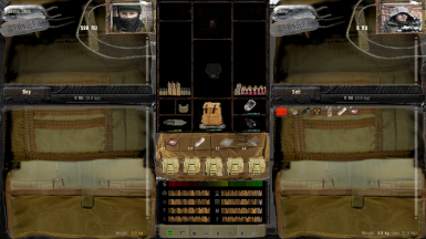 S.I.M Hud and Inventory