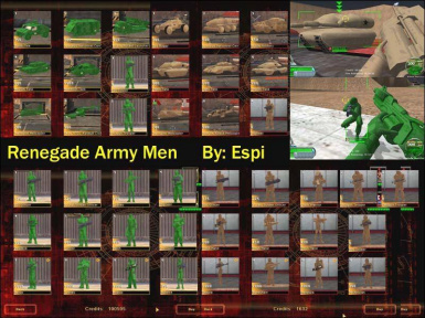 Renegade Army Men