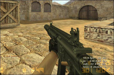 CS: Condition Zero Custom M4 for Mp5 (v1.0)