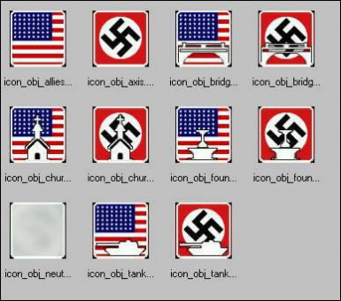 DoD: Source Crook's Replacement Icons & Flags