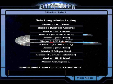 Mission Selection Mod