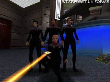 Starfleet Uniform Hazard Team Skin Pack