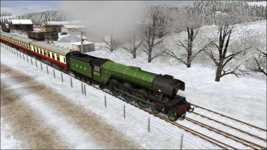 Flying Scotsman Gift (Driveable game)