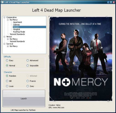 Left 4 Dead Map Launcher