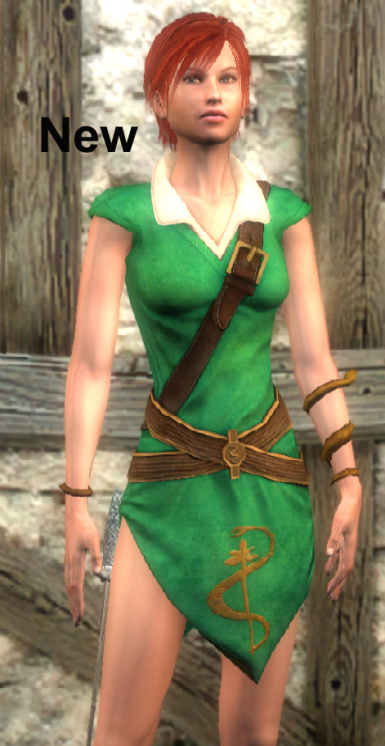 Grass-Green Shani Outfit for TW1