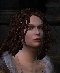 triss with brown hair