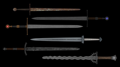 6 Steel Swords