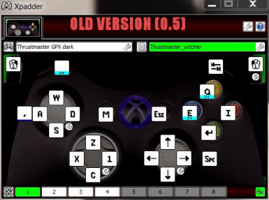 XBox Controller Support - XPadder Profile - discontinued