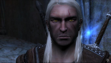 Rise of the White Wolf - new Geralt eyes - by Mr.Vic (aka Victorixxx)