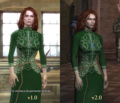 Green Dress for Triss
