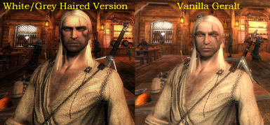 TW3 Geralt HD Face Retexture and Fix (Lore-Friendly)