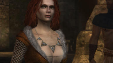 Triss more colored outfit