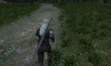 Faster Movement for Geralt