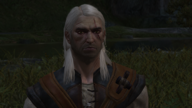 Geralt of Rivia Face Retexture Witcher 1