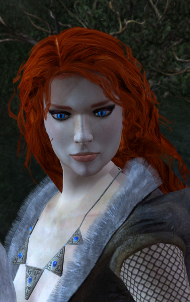 Blue Eyes for Triss